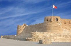Die westliche Wand des Arad Forts blickend in Richtung N lizenzfreies stockfoto