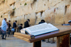 Die westliche Wand in Jerusalem Stockbild