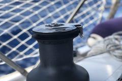 Die wichtigsten Durchschnitte des Segelnhandwerks ist der Segelnschleifer Stockbilder