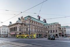Die Wien-Zustand-Oper Stockfotos