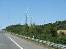 Die Windmühlen lizenzfreie stockfotos