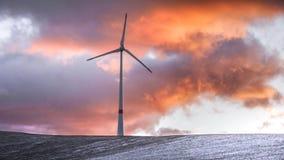 Die Winterlandschaft Lizenzfreies Stockfoto