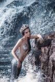 Die wirkliche Meerjungfrau Lizenzfreie Stockbilder