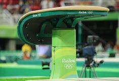 Die Wölbung bei Rio Olympic Arena während Rios 2016 Olympische Spiele Lizenzfreies Stockfoto