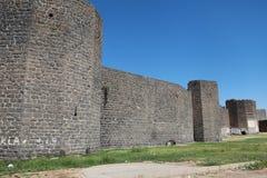 Die Wände von Diyarbakir Stockbild