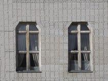 Die Wohnung mit zwei Geschossen von den verschiedenen Farben Lizenzfreie Stockfotos