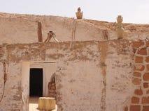 Die Wohnung von Berbers in den Bergen lizenzfreies stockfoto