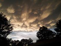 Die Wolke Stockbild