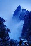 Die Wolke und der Nebel des Sanqingshan Berges Stockbilder