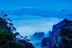 Die Wolke und der Nebel des Sanqingshan Berges Lizenzfreie Stockbilder