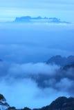 Die Wolke und der Nebel von Sanqingshan mountai Stockbild
