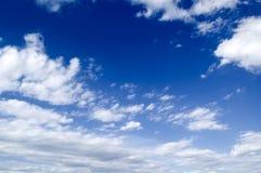 Die Wolken. Stockfoto