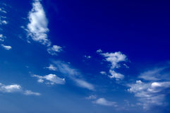 Die Wolken. Stockbild