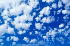 Die Wolken. Lizenzfreie Stockbilder