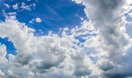 Die Wolken stockbilder