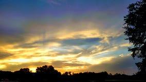 Die Wolken Lizenzfreies Stockbild