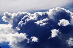 Die Wolken Stockfotografie