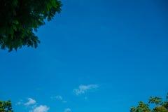 Die Wolken und der Himmel Stockfoto