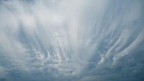 Die Wolken und der Himmel Lizenzfreies Stockbild