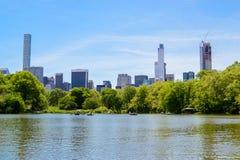 Die Wolkenkratzer von New York City Stockbilder
