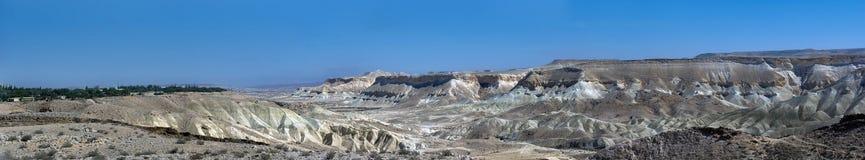 Die Wüste von Israel Stockfotografie