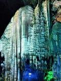 Die Wunder der gefrorenen Schneeberge stockfoto