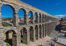 Die wunderbare alte Stadt Segovia, Spanien stockbilder