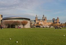 Die wunderbare alte Stadt von Amsterdam, die Niederlande stockfoto