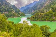 Die wunderbaren Svaneti-Berge, Georgia stockbilder