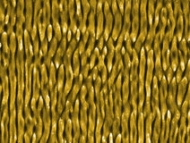 die Wurm ähnlichen Strukturen, die auf Nickel durch ultrashort Laser geschaffen werden, pulsiert Stockfotografie