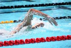 Die XXIIIe internationale Sitzungs-Arena der Schwimmens Lizenzfreies Stockbild