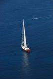 Die Yacht stockfotos