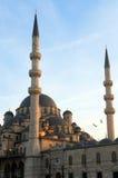Die Yeni Moschee Lizenzfreies Stockbild