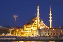 Die Yeni Moschee, neue Moschee Stockfoto