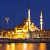 Die Yeni Moschee, neue Moschee Stockfotografie