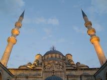Die Yeni Moschee von Istanbul Stockfotos
