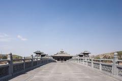 Die Yungang-Grottenbilder Lizenzfreies Stockfoto