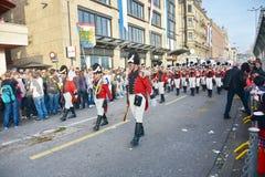 Die Zürich-Frühlingsfeiertagsparade Stockbild