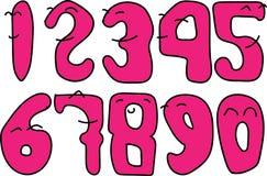 Die Zahl kann lächeln Lizenzfreie Stockbilder