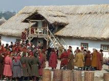 Die Zaporozhye Kosaken Stockfotos