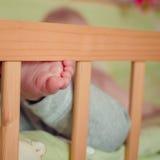 Die Zehen des kleinen Babys Lizenzfreies Stockbild