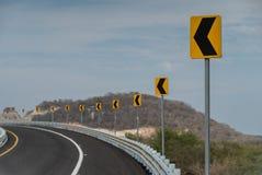 Die Zeichen zeigen nach links an Lizenzfreie Stockfotografie