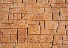Die Zeile Muster auf dem Fußboden Lizenzfreies Stockfoto