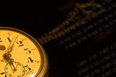 Die Zeit Stockbild