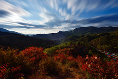 Die Zeit des Herbstes Stockfotos