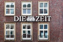 Die Zeit office building Royalty Free Stock Photo