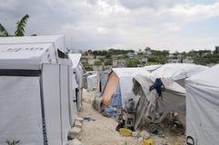 Die Zelte. Stockbild