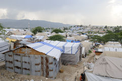 Die Zelte. Stockbilder