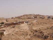 Die zerstörten Wohnungen von Berbers lizenzfreie stockfotos