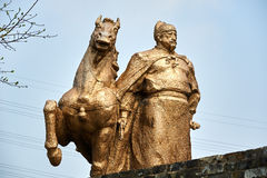 Die Zheng He Statue stockfotografie